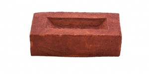 Hastings Dark Red Metric brick