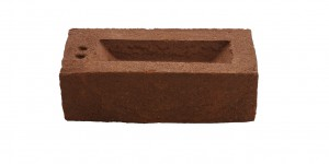 Medium Red Metric brick
